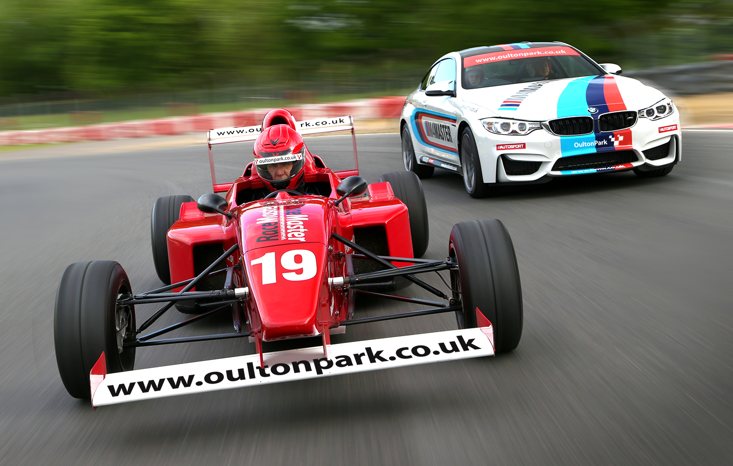 track day driving experience Oulton Park