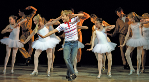 Billy Elliot production live on stage