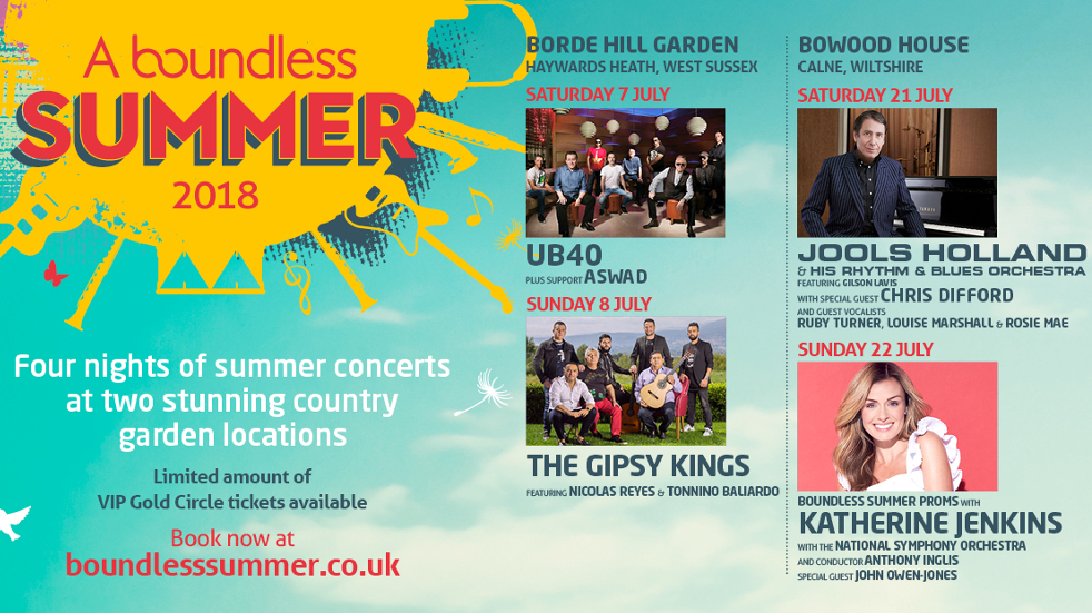 Boundless Summer poster
