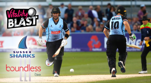 Sussex Sharks Vitality Blast ticket promotion banner image