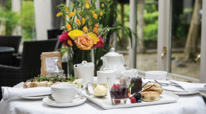 Afternoon tea at Ghyll Manor