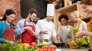 Boundless professionally guided cooking lessons