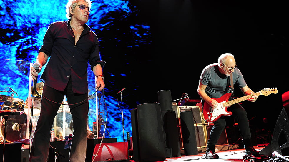 The Who live concert