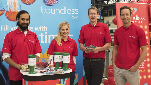 Boundless charity day Brighton station