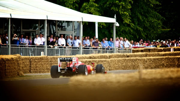 Boundless at the Goodwood festival