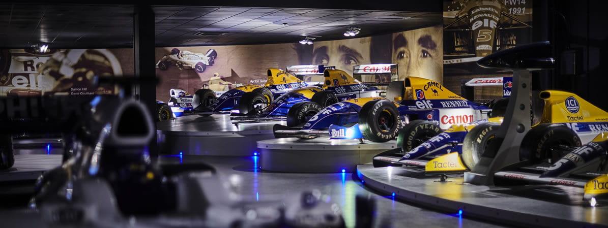 F1 Grand Prix with Team Williams