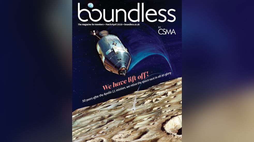 Boundless magazine cover