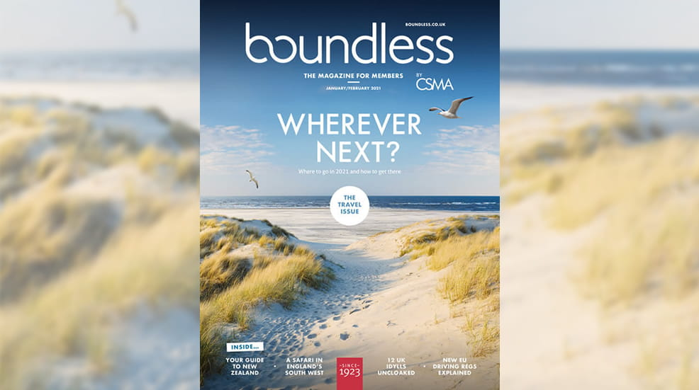 Boundless magazine - Jan Feb 21