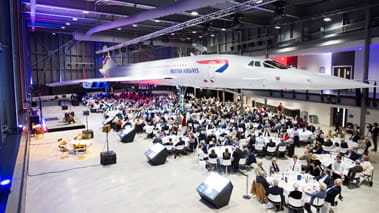 Concorde dining experience
