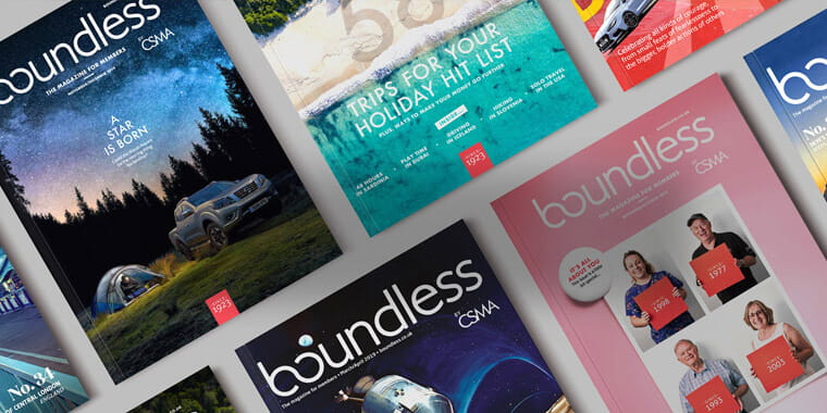 Boundless magazines